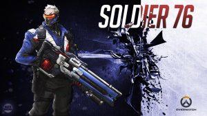 Soldier 76 Overwatch Offense