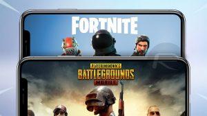 Fortnite and PUBG Mobile