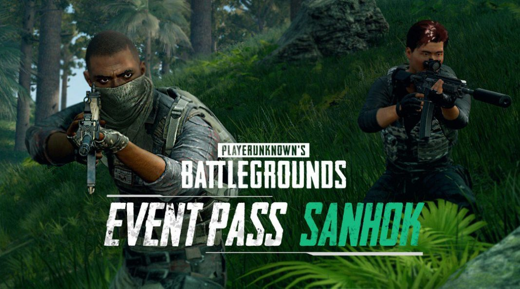 Event Pass Sanhok.