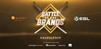 Battle of the Brands title